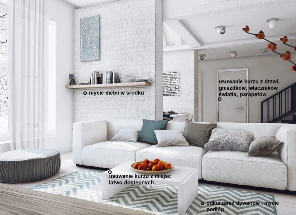 czyszczenie apartamentów