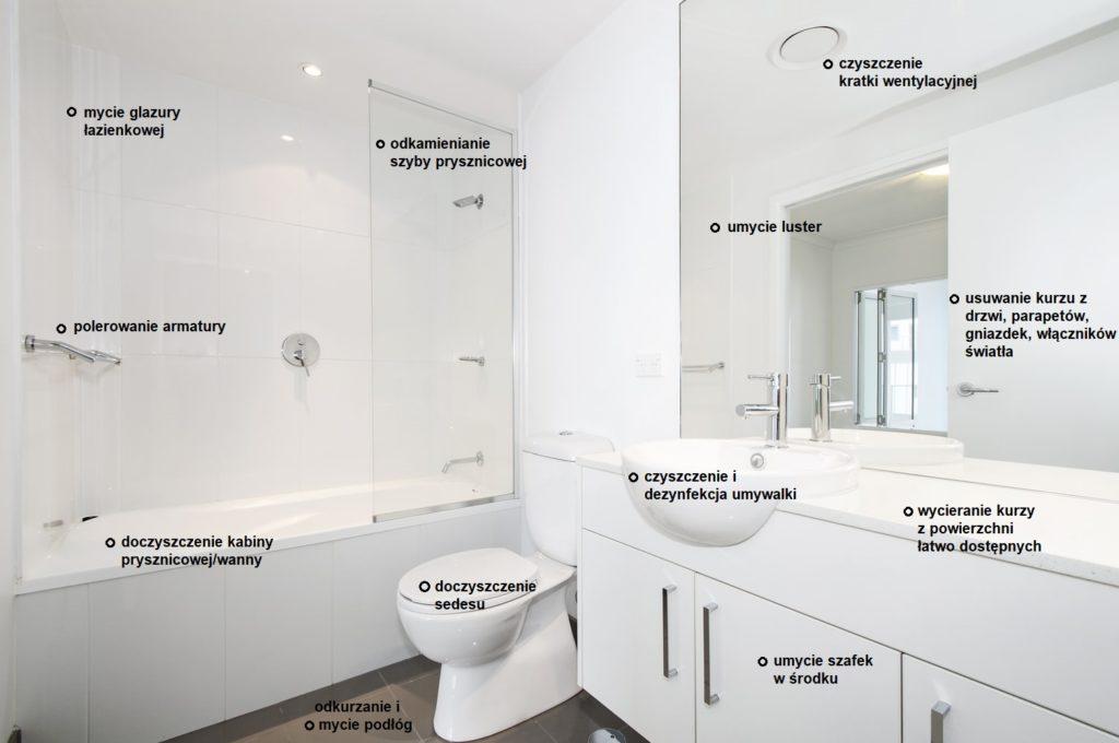 doczyszczenie łazienki